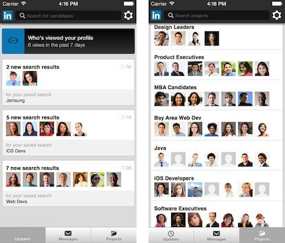 LinkedIn Recruiter Screenshot