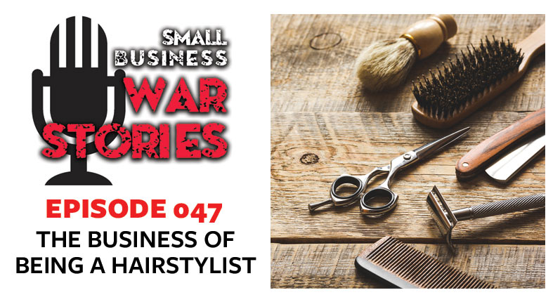 The Business of Being A Hairstylist | Damien Reyes