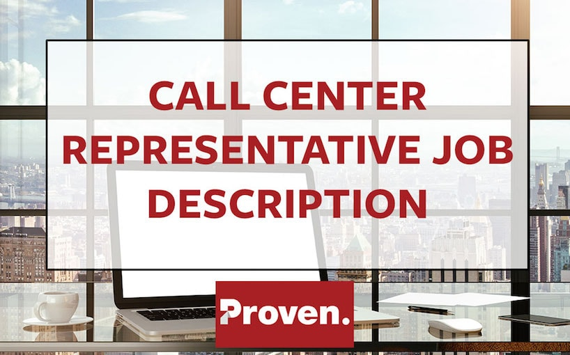 Call Center Representative Job Description