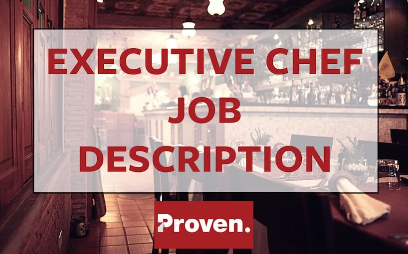 Executive Chef Job Description