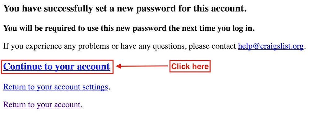 Password successful