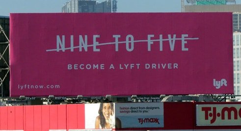 Lyft Job Ad Example
