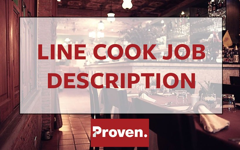 Line Cook Job Description