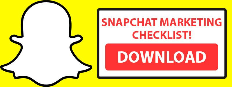 Snapchat Marketing Checklist
