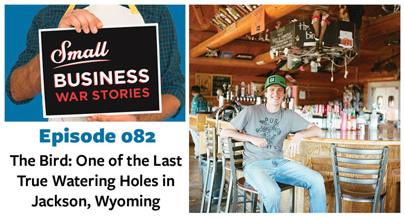 One of the Last True Watering Holes in Jackson, Wyoming
