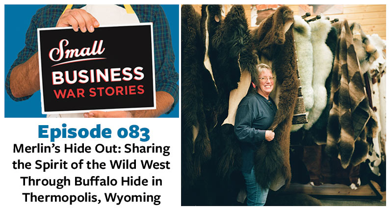 Sharing the Spirit of the Wild West Through Buffalo Hide