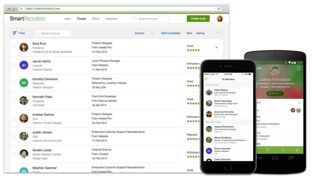 11 Top Best Application tracking systems